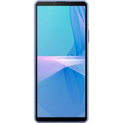 Sony Xperia 10 III Smartphone (15,24 cm/6,0 Zoll, 128 GB Speicherplatz, 12 MP Kamera, 5G) Smartphone (15,24 cm/6 Zoll, 128 GB Speicherplatz, 12 MP Kamera) blau