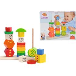 EICHHORN Figuren-Steckpuzzle Spielset Mehrfarbig