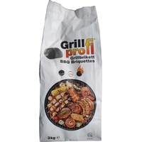 Grillprofi Hamann Grillholzkohle-Briketts 3 kg
