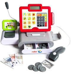 roba® Spielkasse Kasse mit Spielgeld, mit Licht und Sound