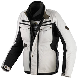 Spidi Worker H2OUT Motorfiets textiel jas Zwart Beige L