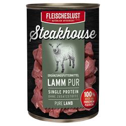 (6,80 EUR/kg) Fleischeslust Steakhouse Lamm Pur 410 g