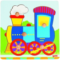 GoKi Steckpuzzle Lokomotive (57551)