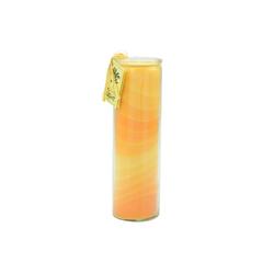 yogabox Duftkerze NUANCE Kerze ORANGE ca. 20 cm