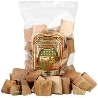 Axtschlag Räucherklötze Erle, 1500 g XXL Packung sortenreine faustgroße Wood Chunks zum Smoken und Räuchern über längere Zeit, für alle Grills geeignet