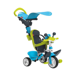 Smoby Dreirad Dreirad Baby Driver Komfort, rosa blau