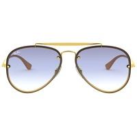 Ray Ban Blaze Aviator RB3584N 001/19 58-13 gold/light blue gradient