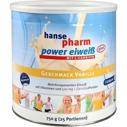 hansepharm Power Eiweiß plus Vanille