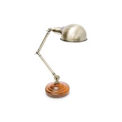 relaxdays Tischleuchte Industrie-Tischlampe neigbar