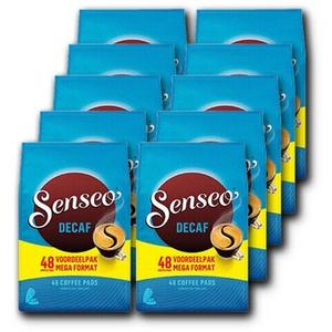 Senseo kaffee Pads DECAF entcoffeiniert 10x48 St. Preis inklusive Kaffeesteuer