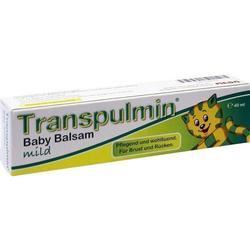 TRANSPULMIN Baby BALSAM mild