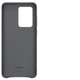 Samsung Leather Cover EF-VG988 für Galaxy S20 Ultra 5G gray