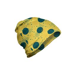 Abakuhaus Beanie Wandern im Freien Retro Zitronenscheiben und Punkt-Muster