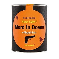 "Mord in Dosen  ""Abgehört"" (Puzzle)"