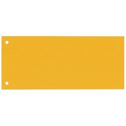 100 bene Trennstreifen gelb