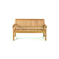 ROG-Gardenline Bank WINDSOR, TEAK BANK, 3-SITZER 154 cm x 88 cm x 66 cm