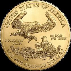 1 Unze Gold American Eagle 2021