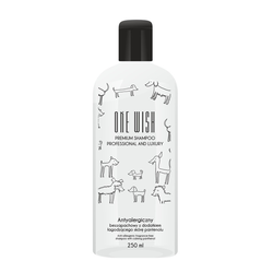ONE WISH Antiallergisches Hundeshampoo  250ml (0,25 l)