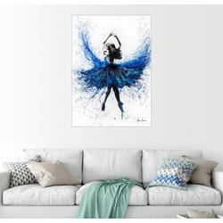 Posterlounge Wandbild, Kristall-Tanz 70 cm x 90 cm