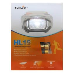 Fenix LED Stirnlampe Fenix HL15 LED Stirnlampe inklusive Batterien, max