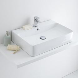 Aufsatzwaschbecken Rechteckig 600mm x 310mm - Exton