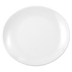 Modern Life Teller oval 25 cm weiß