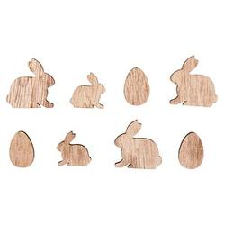 Rayher Holz-Streudeko Hasen und Eier 16 St.