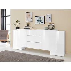 Tecnos Sideboard Pillon, Breite 210 cm weiß