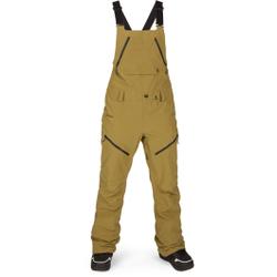 Volcom - Elm Gore Bib Overall Burnt Khaki - Skihosen - Größe: M