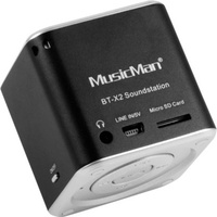 Technaxx MusicMan Mini Wireless Soundstation BT-X2 schwarz