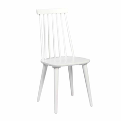 Stuhl in Weiß massiv (4er Set)