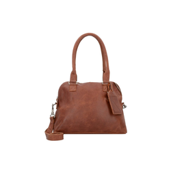 Cowboysbag Schultertasche Bag CarfinBag Carfin, Leder braun