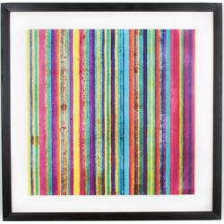 Art for the home Bilderrahmen Neon Streifen, (1 Stück)