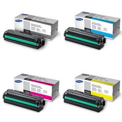 Samsung Tonerset CMYK für CLX-6260 CLP-680, 1x 6.000 und 3x 3.500 Seiten - Samsung Parter