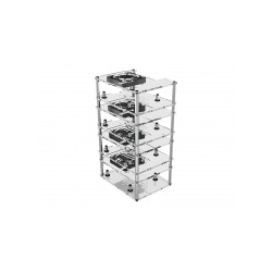 ICY BOX Hülle Stahl Acryl durchsichtig (IB-RP406)