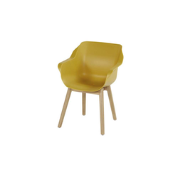 Hartman Sophie Studio Sessel Teak Curry Yellow