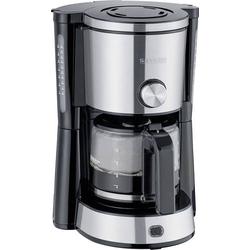 Severin KA 4825  TYPE SWITCH  Kaffeemaschine Edelstahl, Schwarz Fassungsvermögen Tassen=10 Glaskann