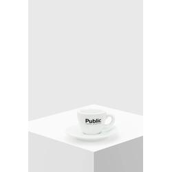 Public Coffee Roasters Espresso Tasse mit Untertasse