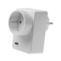 Lupus-Electronics, Lichtschalter + Steckdose, LUPUSEC - Funksteckdose mit Stromzähler und ZigBee Repeater (12050)