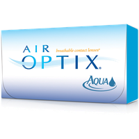 Alcon Air Optix Aqua 6 St. / 8.60 BC / 14.20 DIA / -1.00 DPT
