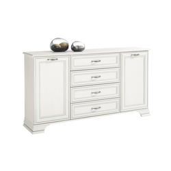 Sideboard Venedig in used white