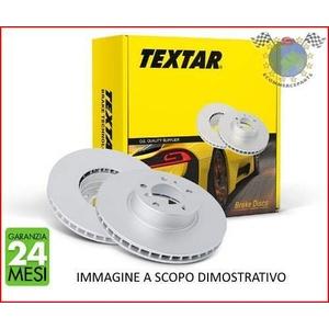 TEXTAR Bremsscheiben für CITROEN BERLINGO C3 C4 PEUGEOT 207 307 PARTNER vorne