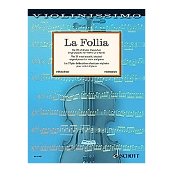 La Follia  Violine und Klavier - Buch