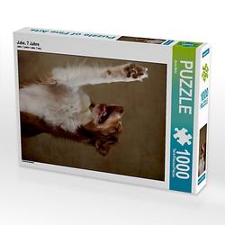 Jake, 7 Jahre Lege-Größe 48 x 64 cm Foto-Puzzle Bild von Jana Behr Puzzle