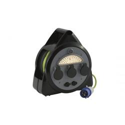 Outwell 3-Wege-Netzkabeltrommel mit USB/Lampe