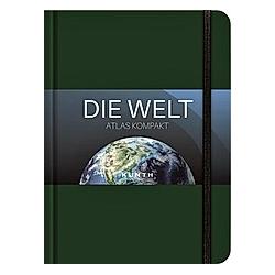 KUNTH Taschenatlas Die Welt - Atlas kompakt  grün - Buch