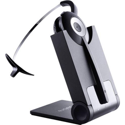 Jabra PRO920 Telefon-Headset DECT schnurlos, Mono On Ear Schwarz, Silber