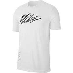 Nike Dri-FIT Graphic Training - T-Shirt - Herren White