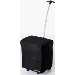 Einkaufstrolley Smart Cart, 25 l, klappbar schwarz