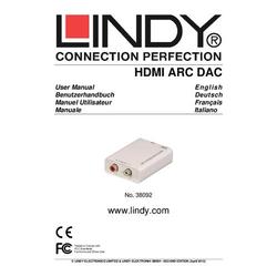 AV Konverter LINDY HDMI ARC Audio Converter [ - ]